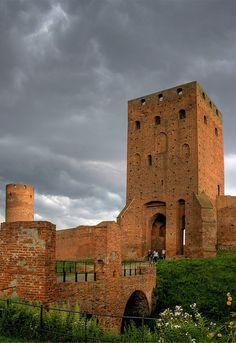 Czersk castle (or its ruins) by Maciunio, via Flickr  Fora Kalwaria, Masovian, Poland