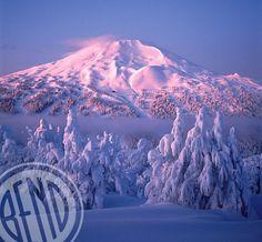 Ski Mt. Bachelor in Bend, Oregon