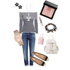 A fashion look from March 2015 featuring long sleeve shirts, dark denim jeans and ballet flat shoes. Browse and shop related looks. Shirt Sleeves, Long Sleeve Shirts, Dark Denim Jeans, Ballet Flats, Fashion Looks, Polyvore, Shopping, Ballet Shoes, Ballerinas