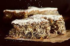 Paleo pita s makom i bananom Poppy Seed Cake, Baking Muffins, Cannoli, Poppies, Bakery, Paleo, Mac, Sweets, Cooking