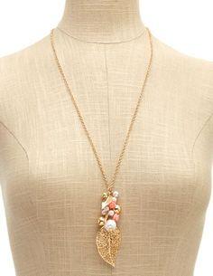 Rose Garden Necklace: Charlotte Russe
