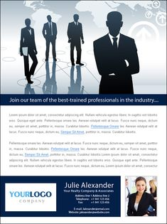 Real Estate Email Flyers   Recruiting Templates   Recruiting ...