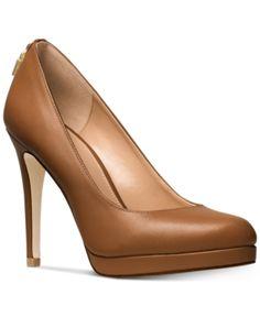 d3a5a9a9c9 12 Best Michael Kors pumps images | Heel, Shoe boots, High shoes