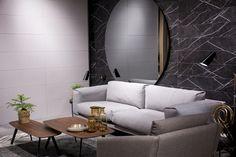 #Cevisama 2017 | #ArcanaTiles | #ArcanaCeramica #Interiorismo #InteriorDesign #Design #Deco #Inspiration #Trend#Arquitectura Interiores Design, Showroom, Cozy, Living Room, Furniture, Home Decor, Architecture, Homemade Home Decor, Sitting Rooms