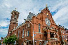 St. Leo Roman Catholic Church, in Little Italy, Baltimore, Maryland.