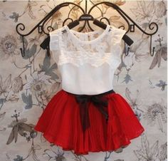 Cheap fashion girl clothing, Buy Quality girls clothing directly from China girls fashion clothing Suppliers: 2016 New Baby Girls Clothing Sets Tutu Skirt+T shirt 2 Pcs Set Summer Kids Fashion Clothes Suit Children Chiffon Princess Dress Baby Outfits, Kids Outfits Girls, Dress Outfits, Fashion Outfits, Style Fashion, Fashion Clothes, Dress Clothes, Fashion Accessories, Girls Party Dress