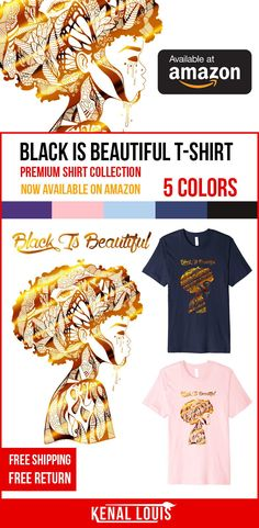 Looking for unique and creative Amazon t shirts for birthday, holiday, and special occasion t shirt gift ideas?the following are all designs and artwork done by me Kenal Louis, All rights reserved. Great Amazon t shirt gift ideas for the whole family and friends. (Black Is Beautiful T shirts, My Black Is Beautiful T shirts, Black Is Beautiful Art)#amazon #tshirts #blackisbeautiful #myblackisbeautiful Cute Tshirts, Cool T Shirts, Afrocentric Clothing, Unique T Shirt Design, Cool Graphic Tees, Black Artwork, Black Artists, My Black Is Beautiful, Black Models
