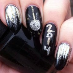 New Year's Eve nails <3
