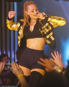Pump it up! Iggy Azalea - seen here performing at SXSW on 19 March - has revealed that she...
