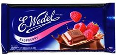 Polish Art Center - Milk Chocolate Bar with Raspberry Filling
