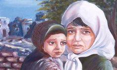 لوحة للفنان خالد نصار