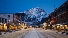 Canada, Alberta, Banff