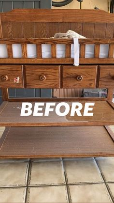Furniture Projects, Custom Furniture, Furniture Makeover, Home Furniture, Reclaimed Wood Signs, Diy Home Repair, Home Upgrades, Boho Diy, Diy On A Budget