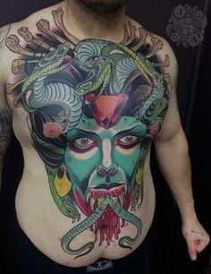 Justin Acca Devils Ink Tattoo