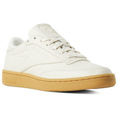 low priced 9f634 59f05 Reebok Shoes Unisex Club C 85 in Classic White Gum Size M 11   W 12.5 -  Court Shoes