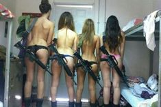 Israeli girl soldiers pose for racy photos