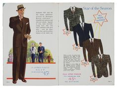 A museum show in London documents how Jewish designers shaped the British male wardrobe over the last century, from Moss Bros. to Marks & Spencer.