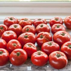 These are good tomatoes for making tomato sauce. | How To Make The Best Tomato Sauce