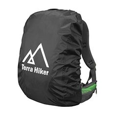 Terra Hiker Backpack Rain Cover for Outdoor Activities Black M >>> See this great product.