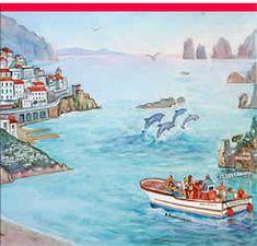 Positano Boat Tours Gennaro e Salvatore: Amalfi Coast, Capri, Galli isle.  Jamik Rec
