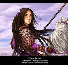April Lee, CCG, collectible card game art, l5r, legend of the five rings, magic…