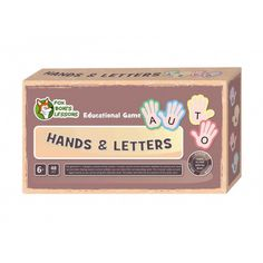 Ręce i literki - Lekcje Liska Boni // Hands and Letters- Fox Boni's Lessons