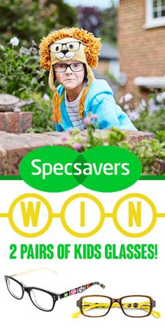 Win 2 Pairs of Kids from Kids Glasses, Competition, Pairs