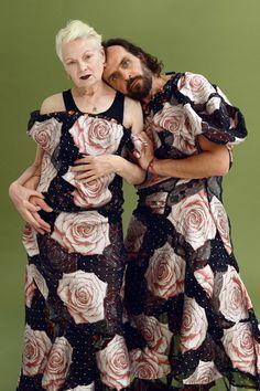 Vivienne Westwood & Andreas Kronthaler by Frederic Aranda.