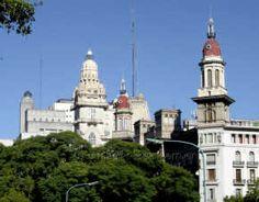 Cúpulas del Palacio Barolo y del edificio La Inmobiliaria
