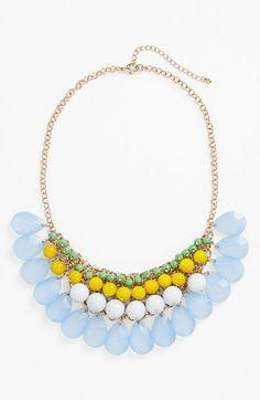 #jewelry #statement #necklace #stone #sparkle #elegant #accessories