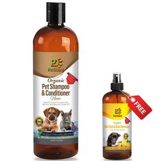 Pet Diesel 17 oz Organic Pet Shampoo and Conditioner: BONUS FREE Pet Stain and Odor Remover: Citrus Pleasant Smell, Moisturizing - For Shiny and Healthy Hair/Coat -- Check out this great product. (This is an Amazon affiliate link)