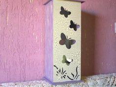 Luminária borboletas - R$55.00