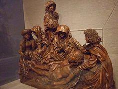 Mourning over the Body of Christ School of Tilman Riemenschneider ca 1460-1531 CE German Swabian 1523 Lindenwood