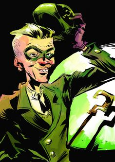 Batman Rogue Gallery: The Riddler by Pal Andersen