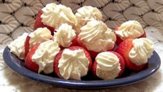 Weight Watchers Low Fat Stuffed Strawberries recipe – 0 points