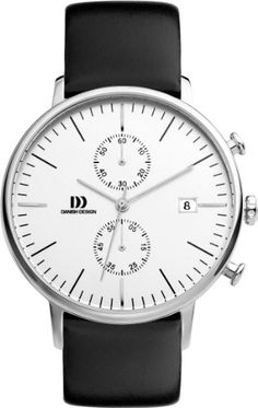 Danish Design Herren-Armbanduhr IQ12Q975 Analog Quarz Leder IQ12Q975 - http://uhr.haus/danish-design/danish-design-herren-armbanduhr-iq12q975-analog