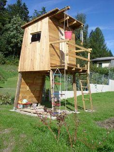 Sandkasten Mit Sonnensegel Und Holzhaus | Back Yard | Pinterest | Sandkasten,  Sonnensegel Und Holzhäuschen