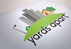 Yards Apart Illustration Logo on Behance