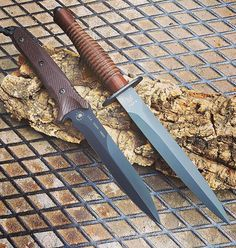 Daggers knives by Fox and Spartan Blades