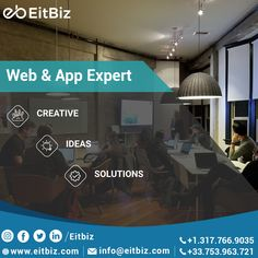 Mobile has nowadays become the synonym of growth, where businesses with no mobile apps are very less likely to continue to grow in the future. #EitBiz, will help in growing App Development project as per your wish. Visit at www.eitbiz.com and get your app developments to get started. #mobileapp #appdevelopment #appdevelopers #mobileappdesigns #appdevelopementcompany Mobile Web Design, App Design, Application Development, Software Development, Customer Service Experience, Custom Website Design, Ecommerce Solutions, Digital Marketing Services, Design Agency