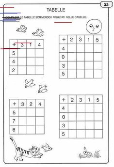 Addition and Subtraction Worksheet Activities Math Addition Worksheets, Kindergarten Math Worksheets, 1st Grade Worksheets, Addition And Subtraction, Math Activities, Have Fun Teaching, Teaching Math, Teaching Geography, Math School