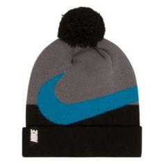 Boys Nike Swoosh Pom Beanie