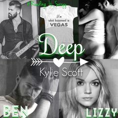 Deep by Kylie Scott; Stage Dive Series (Model: Franggy Yanez & Lindsay Ellingson)
