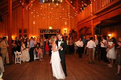 Barn Wedding Recepetion