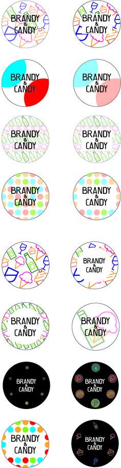Digitale schetsen stickers