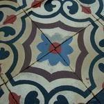 // French carreaux de ciments floor, c.1900