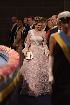 The Swedish Royal Family attends the Nobel Prize Awards Ceremony at Concert Hall in Stockholm