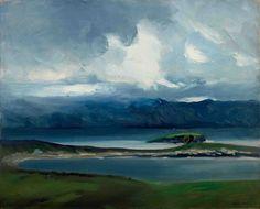 "huariqueje: ""  Robert Henri, West Coast of Ireland - Robert Henri, 1913. American , 1865-1929 Oil on canvas, 26 x 32 inches. Everson Museum of Art """