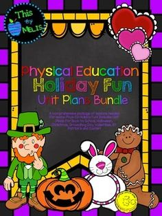 This Bundle is packed full of lesson plans needed to have tons of Holiday Fun in the gym! This Physical Education Full Year Plan Bundle was designed for the Elementary School aged group, more specifically Kindergarten through to Fourth Grade. Included in this package are 5 Unit Plans. Gym Games, Unit Plan, Fourth Grade, Physical Education, Elementary Schools, Holiday Fun, Lesson Plans, Bowser, Physics
