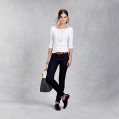 #FairTuesday Because you can never go wrong with a simple tee and jeans. Perfect for fall and an adorable fair trade buy. Shot053_20130803_zady_4714